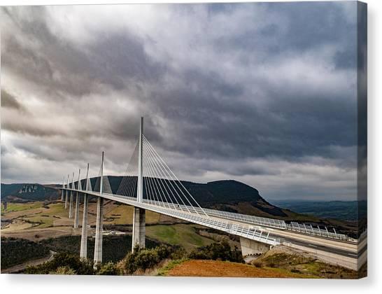 Millau Viaduct Canvas Print