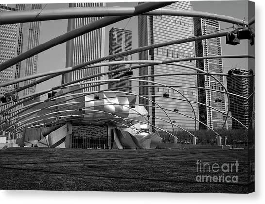 Millennium Park IIi Visit Www.angeliniphoto.com For More Canvas Print