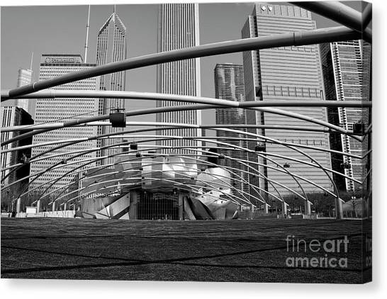 Millennium Park Iv Visit Www.angeliniphoto.com For More Canvas Print