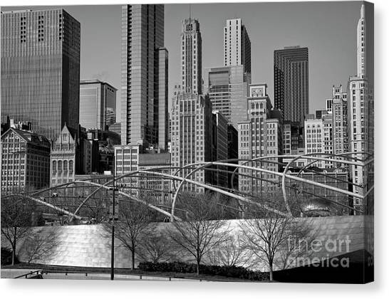 Millennium Park V Visit Www.angeliniphoto.com For More Canvas Print