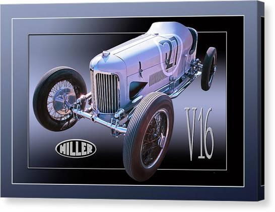 Miller V16 Canvas Print