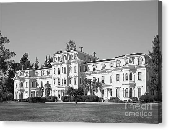 Oakland University Canvas Print - Mills College Mills Hall by University Icons