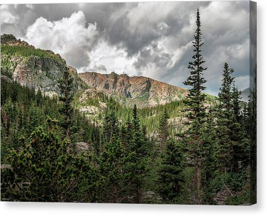 Mills Lake Hike Canvas Print