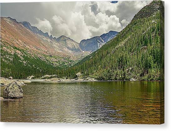 Mills Lake Canvas Print