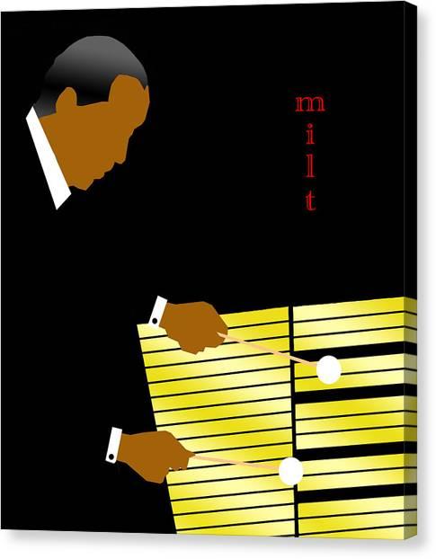 Canvas Print - Milt Jackson by Victor Bailey