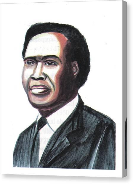 Milton Apolo Obote Canvas Print