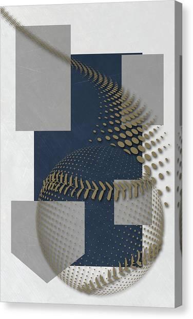 Milwaukee Brewers Canvas Print - Milwaukee Brewers Art by Joe Hamilton