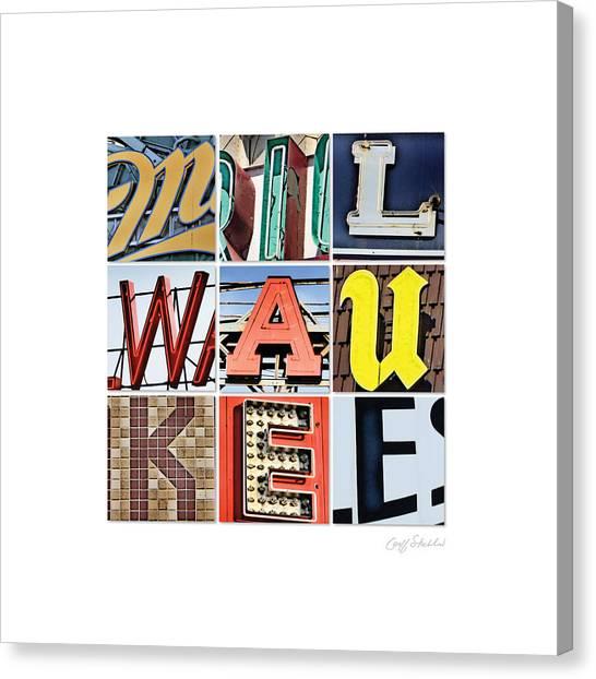 Milwaukee Canvas Print by Geoff Strehlow