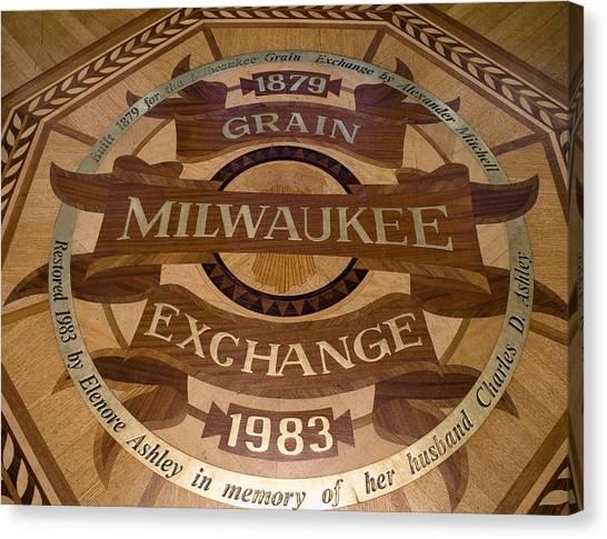 Milwaukee Grain Exchange Canvas Print