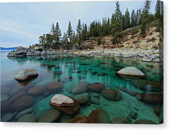 Canvas Print featuring the photograph Mind Blowing Clarity by Sean Sarsfield