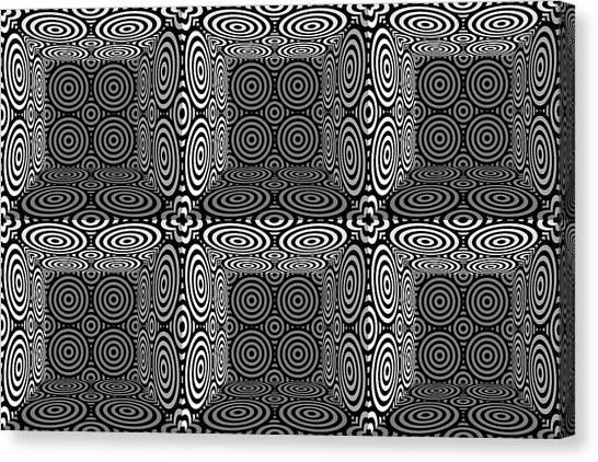 Eye-catching Canvas Print - Mind Games 3d 3b 2 by Mike McGlothlen