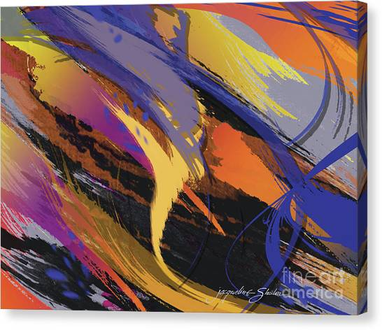 Mind Speed Canvas Print