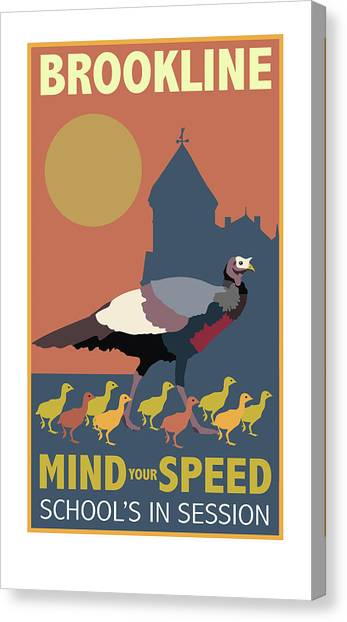 Mind Your Speed Canvas Print