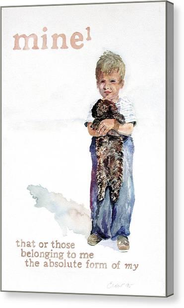 Mine Canvas Print by Janice Crow