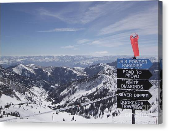 Mineral Basin Canvas Print