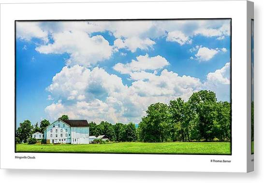 Mingoville Clouds Canvas Print