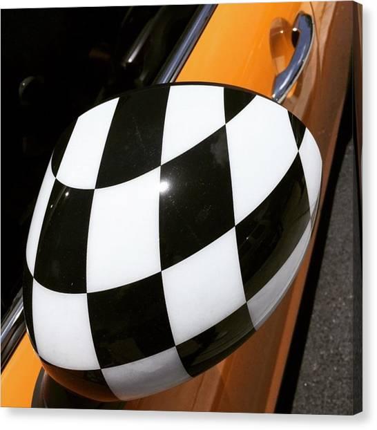 Car Canvas Print - Mini Cooper #juansilvaphotos by Juan Silva