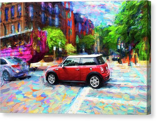 Mini Cooper Series 3 Canvas Print