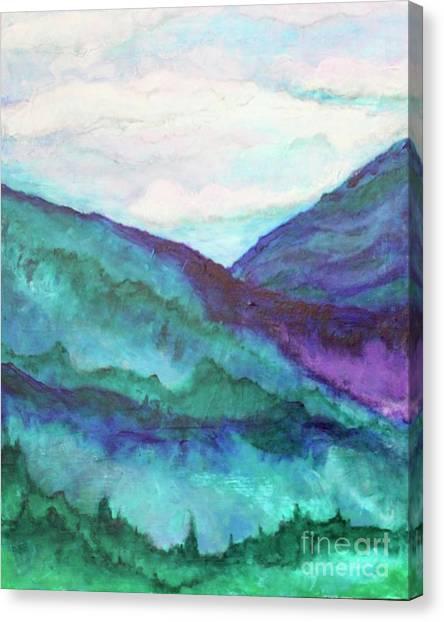 Mini Mountains Majesty Canvas Print