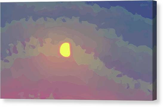 Mini Nocturne - Print 1 Canvas Print