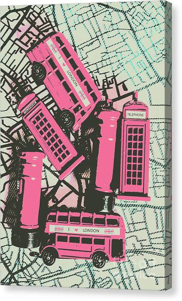 Limes Canvas Print - Miniature London Town by Jorgo Photography - Wall Art Gallery