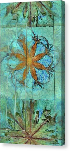 Cal Poly Canvas Print - Miniatured Placing Flower  Id 16165-035436-14581 by S Lurk