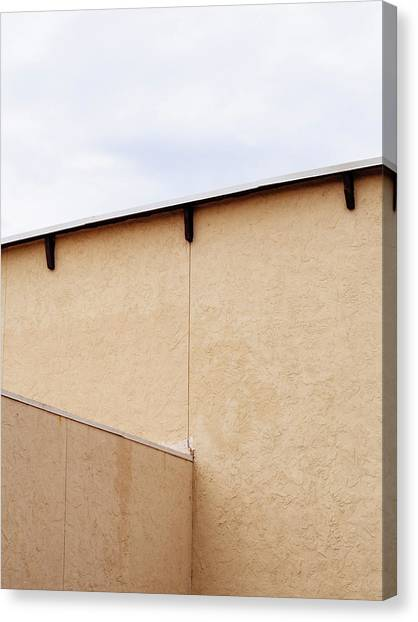 Minimal Fine Art Architecture Canvas Print by Dylan Murphy