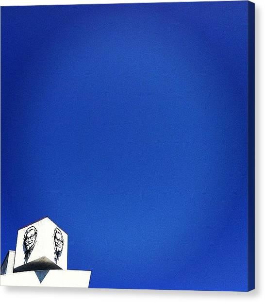 Minimalism Canvas Print - Minimal L.a. by Courtney Haile