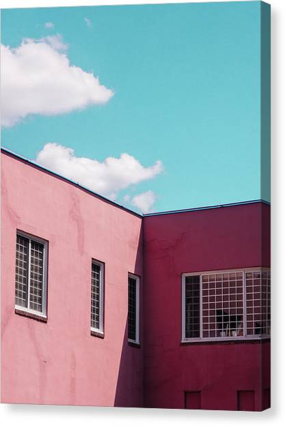 Minimalist Architecture Canvas Print by Dylan Murphy