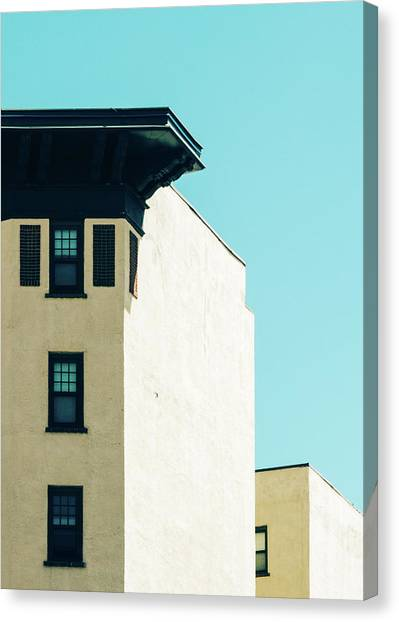 Minimalist Architecture Photo Canvas Print by Dylan Murphy