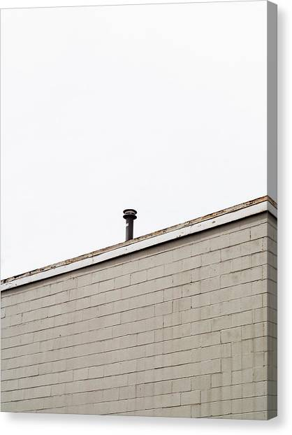 Minimalist Architecture Photography Canvas Print by Dylan Murphy