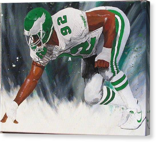 Reggie White Canvas Print - Minister Of Defense by William Boehmer