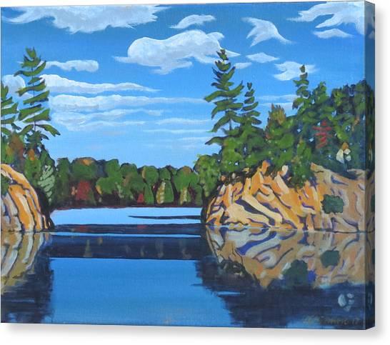 Mink Lake Gap Canvas Print