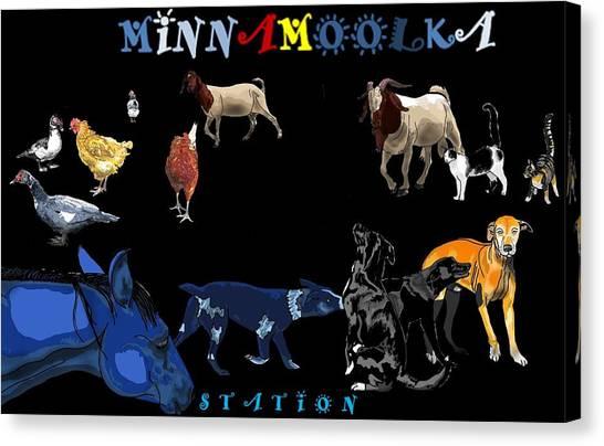 Canvas Print - Minnamoolka Station by Joan Stratton