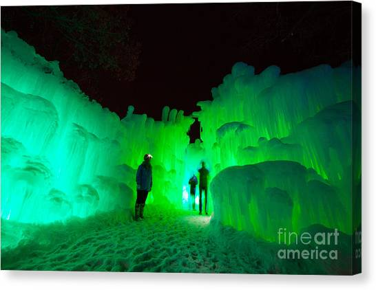 Ice Castles Of Minnesota Canvas Print