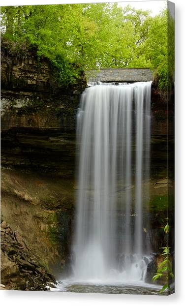 Minnehaha Falls Canvas Print