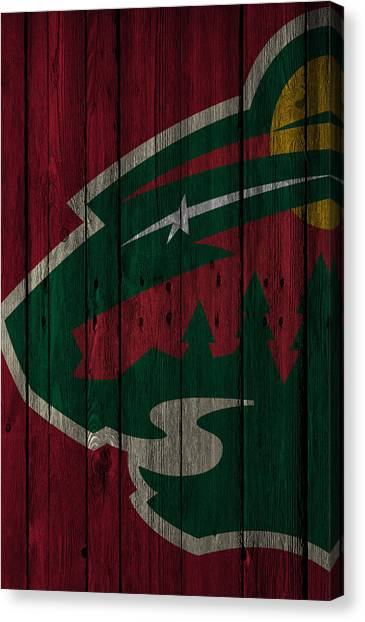 Minnesota Wild Canvas Print - Minnesota Wild Wood Fence by Joe Hamilton