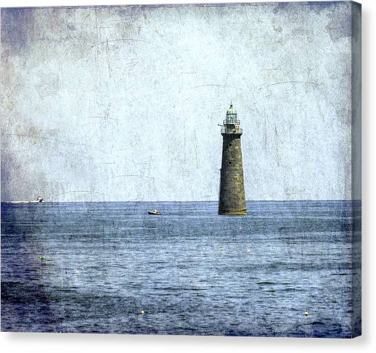 Minot Ledge Light Canvas Print