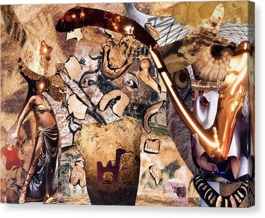 Minotauros Canvas Print by Christoph Fuhrken