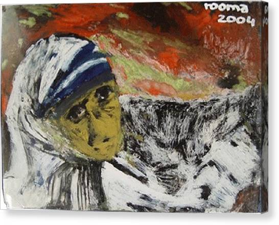 Miracle Mother Canvas Print by Rooma Mehra