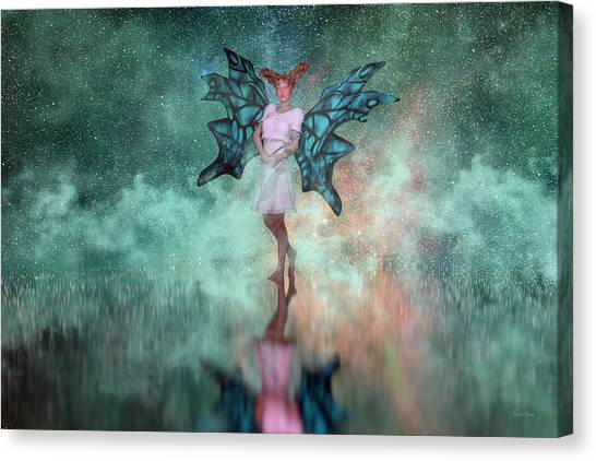 Sprite Canvas Print - Mirage  by Betsy Knapp