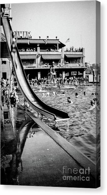 Miramar Pool  Canvas Print