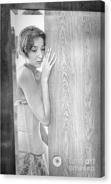 Mirror #6555 Canvas Print