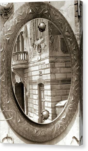 Mirror Canvas Print by Andrea Simon