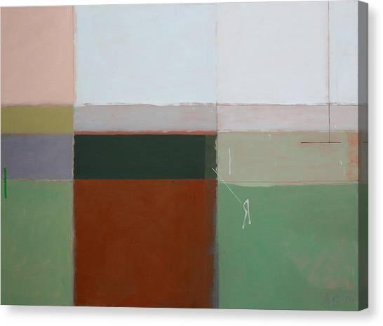 Mirror Canvas Print by Andrew Crane