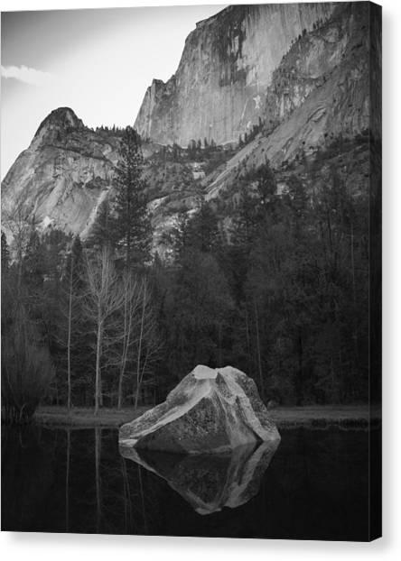 Mirror Lake Rock Canvas Print