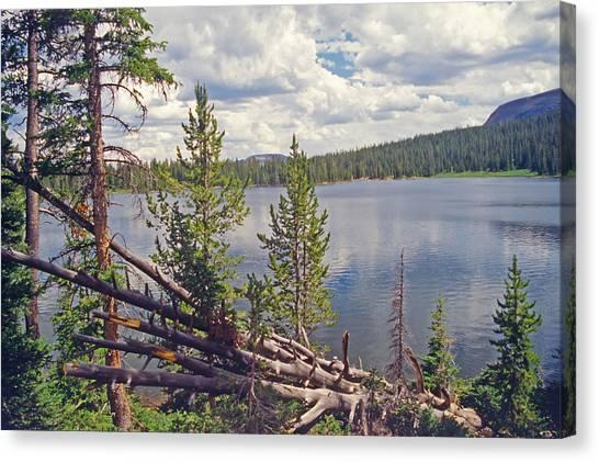 Mirror Lake Utah 3 Canvas Print by Steve Ohlsen