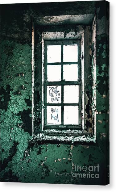 Urban Decay Canvas Print - Misery Screams by Evelina Kremsdorf