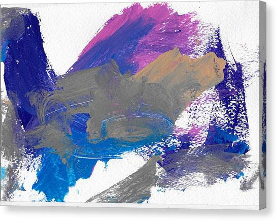 Miss Emma's Abstract Canvas Print