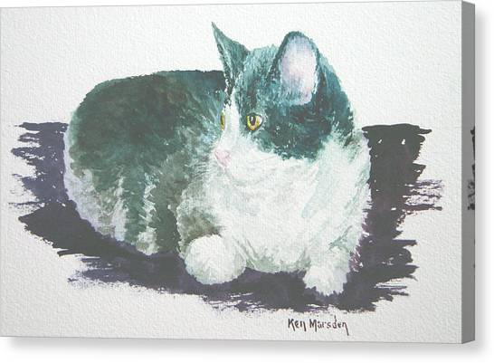 Miss Kitty Canvas Print